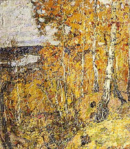 Pjotr Petrowitschev: Herbst-Elegie. 1907.