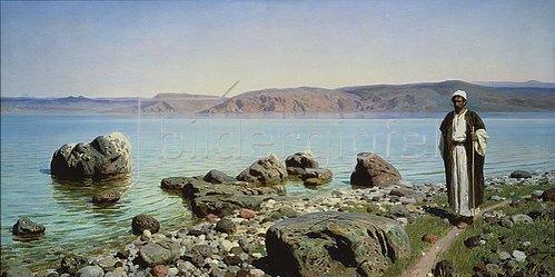 Vasilij Dimitrijew Polenow: Am See von Galiläa. 1888