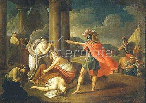 Matwej Puchinov: Tod der Camilla, Schwester des Horatius. 1787.