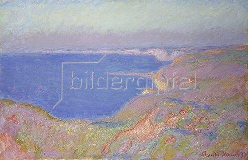 Claude Monet: Untergehende Sonne bei Dieppe. 1897