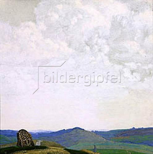 Nikolai Konstantinow Roerich: Der ewige Pfad. 1912.