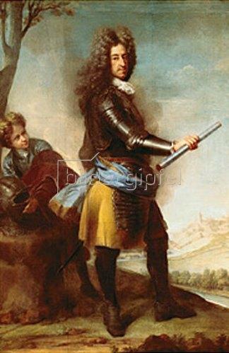 Joseph Vivien: Max Emanuel als Feldherr vor Mons. 1706.