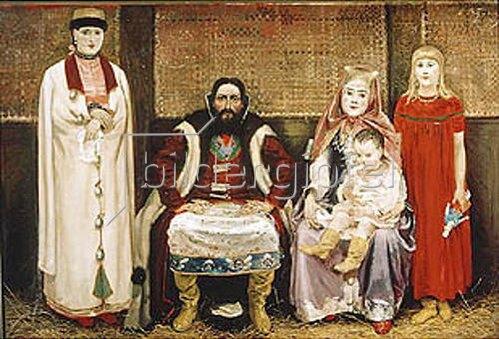 Andrej Petrow Rjabuschkin: Eine russische Kaufmannsfamilie des 17. Jahrhunderts. 1896.