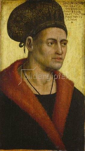 Jan Polack: Herzog Sigismund von Bayern-München (1439-1501).