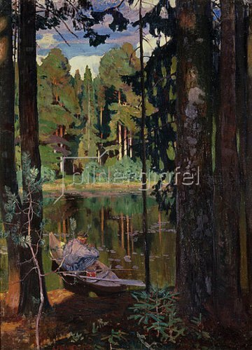 Arkadi Rylow: Stille am See. 1908
