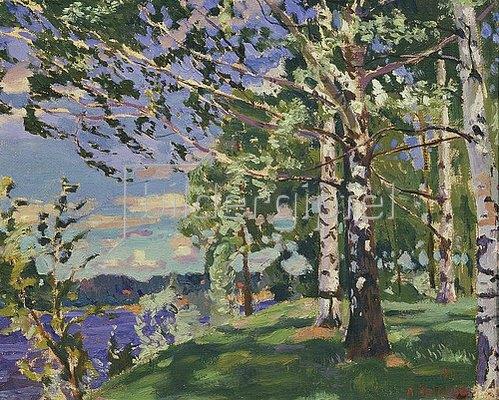 Arkadi Rylow: Scharfer Wind. 1916.