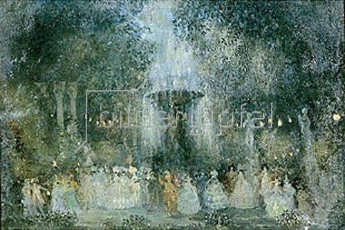 Nikolaj Sapunov: Ein Maskenball. 1907.