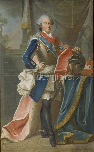 Michael Hartwanger: Kurfürst Max III. Joseph von Bayern (1727- 1777). 1767.
