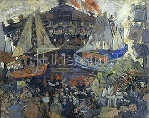 Nikolaj Sapunov: Karussell. 1908.