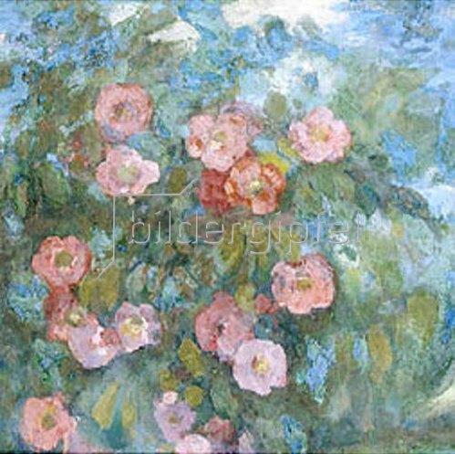 Nikolaj Sapunov: Das Bouquet. 1910-er Jahre.