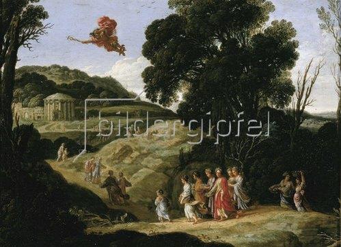 Jacob Pynas: Merkur und Herse. 1605-1608.
