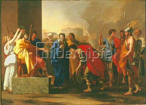 Nicolas Poussin: Die Grossmut des Scipio. 1640