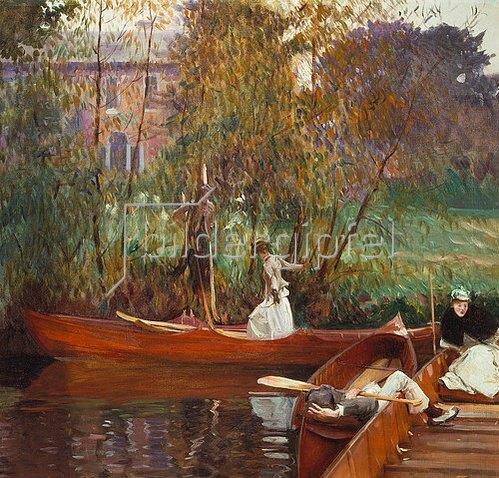 John Singer Sargent: Eine Boots-Party.