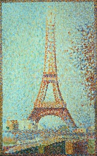 Georges Seurat: Der Eiffel-Turm. 1889.