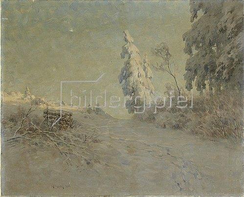 Nelson Gray Kinsley: Winterlandschaft am Feldberg im Taunus. 1935.