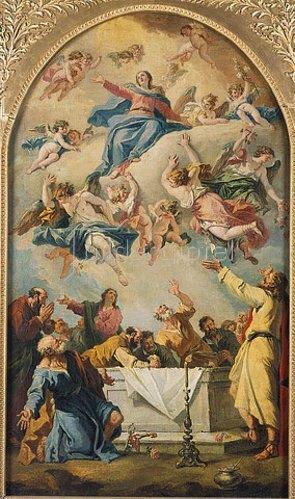 Sebastiano Ricci: Himmelfahrt Mariae.