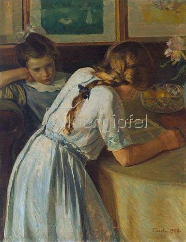 Ludvig Find: Zwei Schwestern. 1914