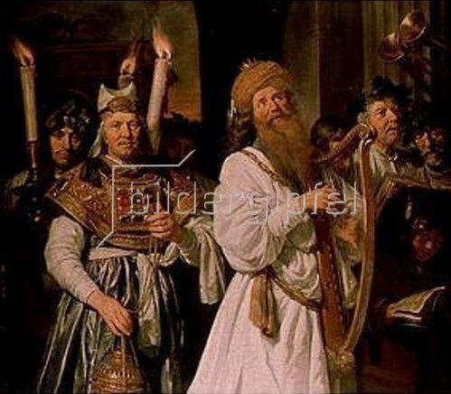 Jan de Bray: David mit der Harfe.