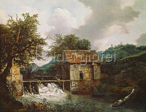Jacob Isaacksz van Ruisdael: Zwei Mühlen.