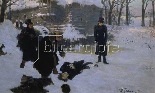 Ilja Efimowitsch Repin: Das Duell. 1901