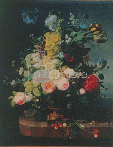 Jean-Louis Prevost: Stillleben mit Blumen.