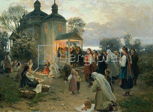 Nikolai Korniliew Pimonenko: Ostermorgen.
