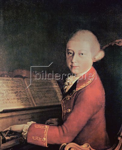 Saverio dalla Rosa: Wolfgang Amadeus Mozart in Verona. 1770.