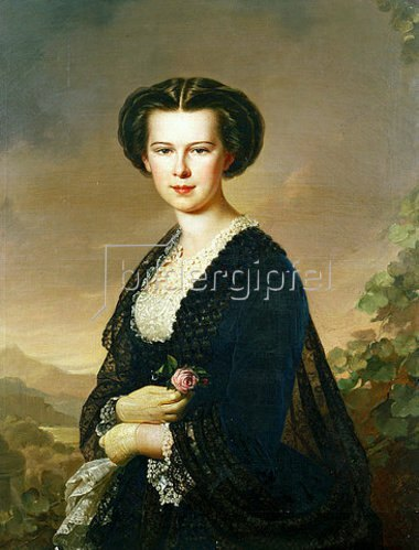 Anton Einsle: Kaiserin Elisabeth von Österreich (1837-1898)