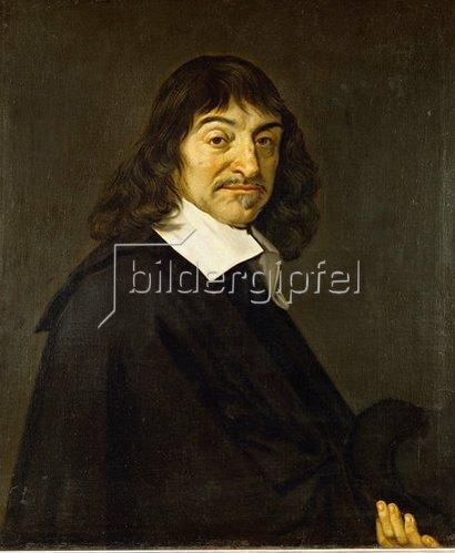 Frans Hals: Bildnis René Descartes. (Kopie nach Frans Hals!)