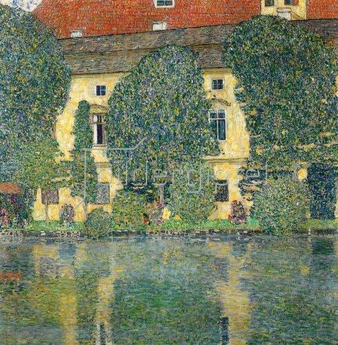 Gustav Klimt: Schloss Kammer am Attersee.1910.
