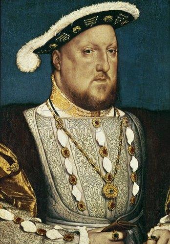 Hans Holbein d.J.: Heinrich (Henry) VIII., König von England.