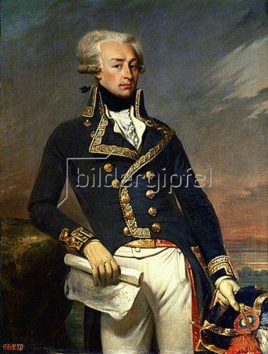 Joseph Désiré Court: Marie Joseph de Motier, Marquis de Lafayette. 1830.
