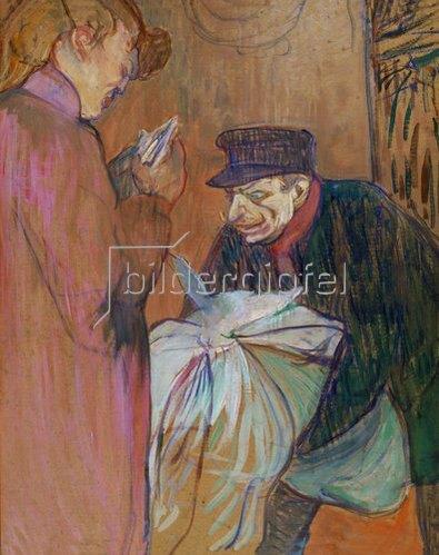 Henri de Toulouse-Lautrec: Der Wäscher. 1894.