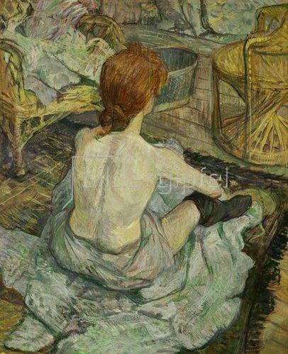 Henri de Toulouse-Lautrec: La Toilette. 1896.