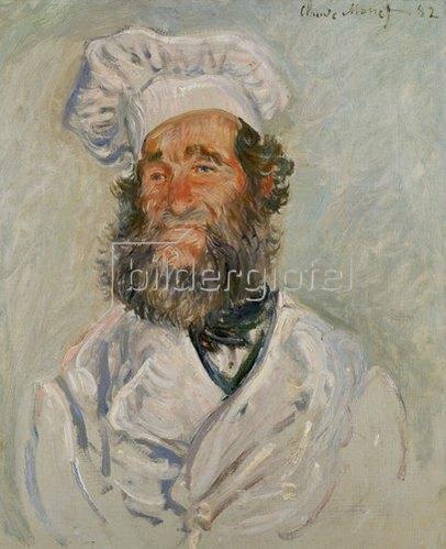 Claude Monet: Der Koch. 1882.