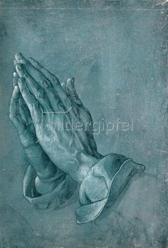 """Albrecht Dürer: Studie zu """"Betende Hände"""". 1508"""