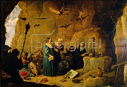 David Teniers: Die Versuchung des hl.Antonius Abad.