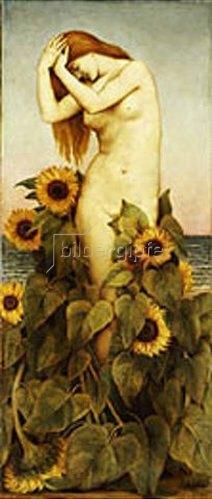 Evelyn De Morgan: Clytie. 1886/87.