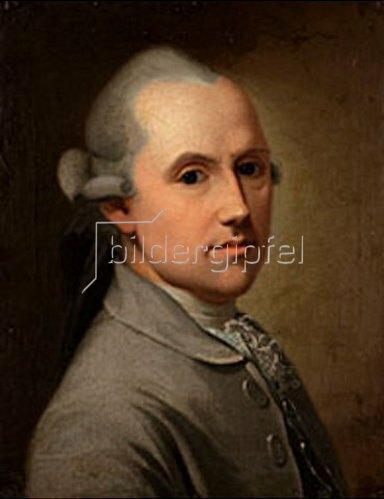 Anonym: Bildnis Friedrich Maximilian von Klinger (1753-1831) im Alter von ca. 30 Jahren.