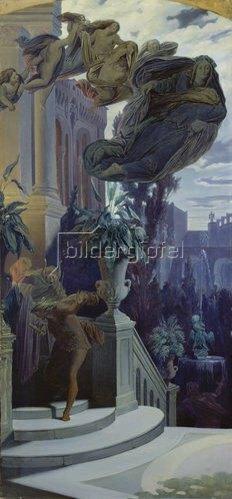 Moritz von Schwind: Die Entführung des Aschenbrödels durch die Fee. 1854