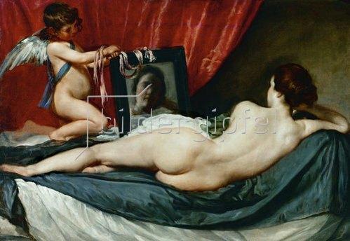 Diego Rodriguez de Velazquez: Venus mit dem Spiegel. Um 1647-51(?)