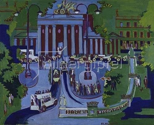 Ernst Ludwig Kirchner: Brandenburger Tor.