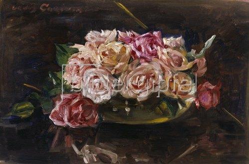 Lovis Corinth: Rosen. 1911