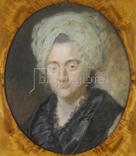 Georg Oswald May: Catharina Elisabeth Goethe (geb. Textor). 1776