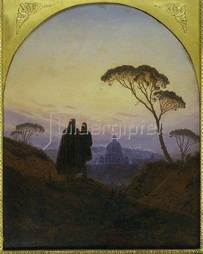 Carl Gustav Carus: Erinnerung an Rom. 1831.