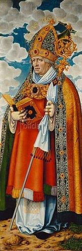 Lucas Cranach d.Ä.: Magdalenenaltar: Heiliger Chrysostomus.