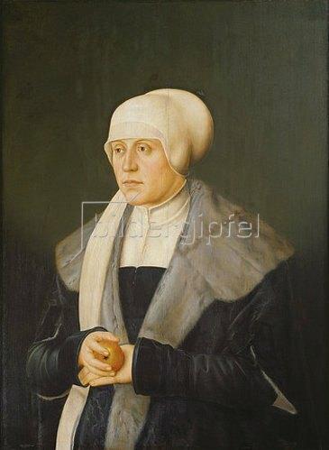Bartel Beham: Kunigunde v.Österreich, Tochter Friedr. III.,Gemahlin Albrechts IV.von Bayern.