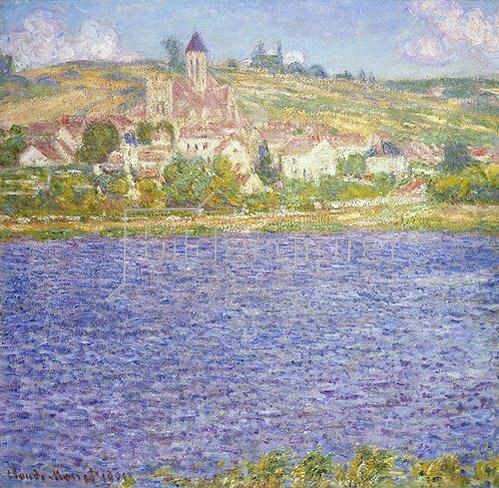 Claude Monet: Ansicht von Vetheuil am Nachmittag. 1901