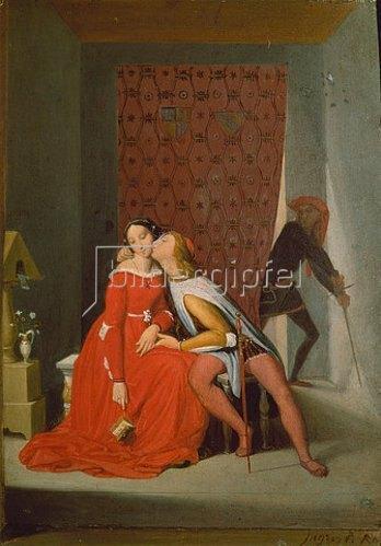 Jean Auguste Dominique Ingres: Paolo und Francesca.