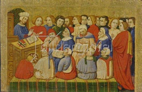 Veronesisch: Der heilige Augustinus als Lehrer.